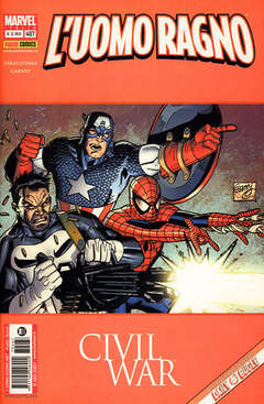 Copertina SPIDER-MAN n.467 - CIVIL WAR, MARVEL ITALIA
