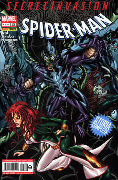 Copertina SPIDER-MAN n.506 - SECRET INVASION, MARVEL ITALIA