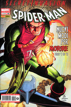 Copertina SPIDER-MAN n.510 - SECRET INVASION, MARVEL ITALIA