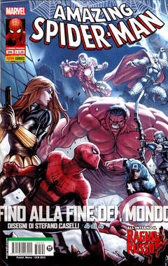 Copertina SPIDER-MAN n.590 - AMAZING SPIDER-MAN 8, MARVEL ITALIA