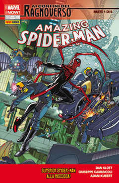 Copertina SPIDER-MAN n.622 - AMAZING SPIDER-MAN MARVEL NOW, MARVEL ITALIA