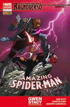 Copertina SPIDER-MAN n.623 - AMAZING SPIDER-MAN MARVEL NOW, MARVEL ITALIA