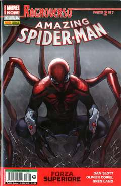 Copertina SPIDER-MAN n.628 - AMAZING SPIDER-MAN MARVEL NOW, MARVEL ITALIA