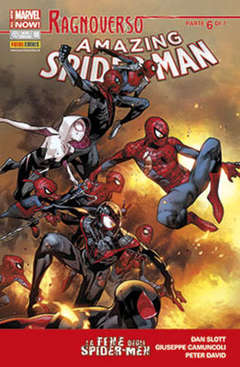 Copertina SPIDER-MAN n.632 - AMAZING SPIDER-MAN MARVEL NOW, MARVEL ITALIA