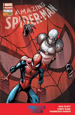 Copertina SPIDER-MAN n.640 - AMAZING SPIDER-MAN MARVEL NOW, MARVEL ITALIA