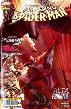 Copertina SPIDER-MAN n.653 - AMAZING SPIDER-MAN 4, MARVEL ITALIA