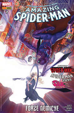 Copertina SPIDER-MAN n.656 - AMAZING SPIDER-MAN 7, MARVEL ITALIA