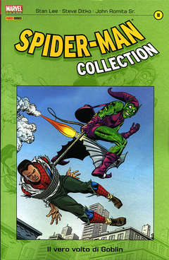Copertina SPIDER-MAN COLLECTION n.10 - SPIDER-MAN COLLECTION, MARVEL ITALIA