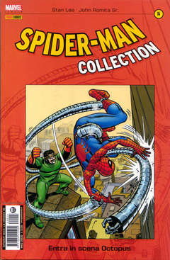 Copertina SPIDER-MAN COLLECTION n.15 - SPIDER-MAN COLLECTION        15, MARVEL ITALIA