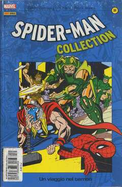 Copertina SPIDER-MAN COLLECTION n.34 - SPIDER-MAN COLLECTION        34, MARVEL ITALIA