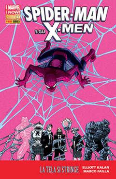 Copertina SPIDER-MAN E GLI X-MEN n.3 - SPIDER-MAN E GLI X-MEN, MARVEL ITALIA