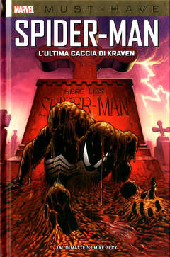 Copertina SPIDER-MAN L'ULTIMA CACCIA DI. n. - L'ULTIMA CACCIA DI KRAVEN, MARVEL ITALIA