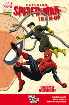 Copertina SPIDER-MAN UNIVERSE n.34 - SUPERIOR SPIDER-MAN TEAM-UP 9, MARVEL ITALIA
