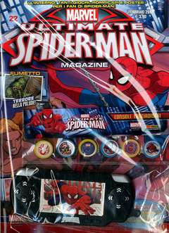 Copertina ULTIMATE SPIDER-MAN MAGAZINE n.22 - ULTIMATE SPIDER-MAN COLLECTION, MARVEL ITALIA