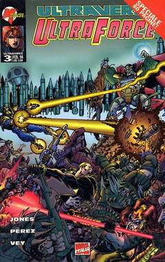 Copertina ULTRAFORCE n.3 - ULTRAFORCE                   3, MARVEL ITALIA
