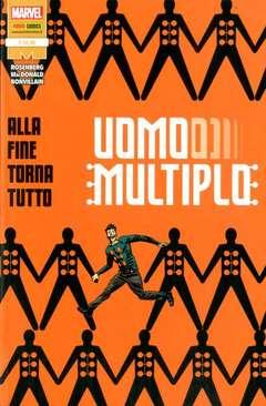 Copertina UOMO MULTIPLO n. - ALLA FINE TORNA TUTTO, MARVEL ITALIA