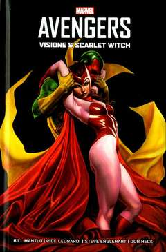 Copertina VISIONE & SCARLET WITCH n. - VISIONE & SCARLET WITCH, MARVEL ITALIA