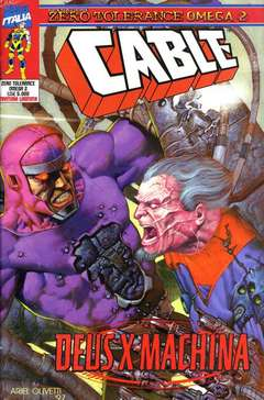 Copertina ZERO TOLERANCE OMEGA M2 n.2 - ZERO TOLERANCE OMEGA2, MARVEL ITALIA