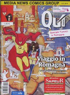 Copertina QUI MAGAZINE n. - QUI MAGAZINE, MEDIA NEWS