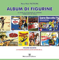 Copertina ALBUM DI FIGURINE n.5 - ALTRI EDITORI (M-Z), MENCARONI EDITORE