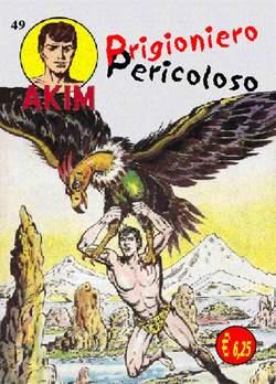 Copertina AKIM CRONOLOGICA seconda serie n.13 -  AKIM albi dal 49 al 52, MERCURY EDITORIALE