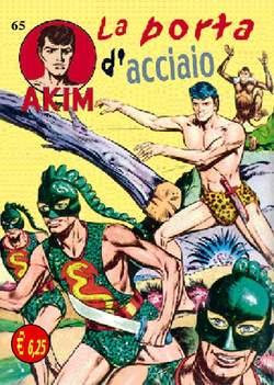 Copertina AKIM CRONOLOGICA seconda serie n.17 -  AKIM GIGANTE albi dal 65 al 68, MERCURY EDITORIALE