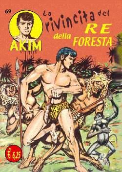 Copertina AKIM CRONOLOGICA seconda serie n.18 -  AKIM GIGANTE albi dal 69 al 72, MERCURY EDITORIALE