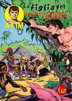 Copertina AKIM CRONOLOGICA seconda serie n.20 -  AKIM GIGANTE albi dal 77 al 80, MERCURY EDITORIALE