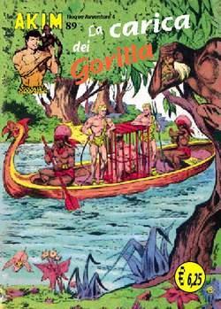 Copertina AKIM CRONOLOGICA seconda serie n.23 -  AKIM GIGANTE albi dal 89 al 92, MERCURY EDITORIALE