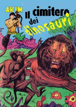 Copertina AKIM CRONOLOGICA seconda serie n.24 -  AKIM GIGANTE albi dal 93 al 96, MERCURY EDITORIALE