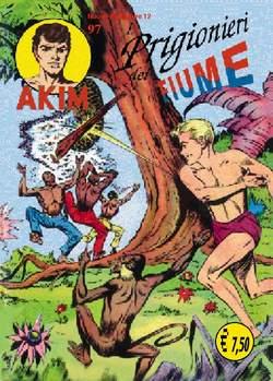 Copertina AKIM CRONOLOGICA seconda serie n.25 -  AKIM GIGANTE albi dal 97 al 100, MERCURY EDITORIALE