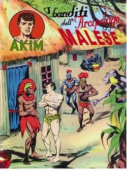 Copertina AKIM CRONOLOGICA seconda serie n.26 -  AKIM GIGANTE albi dal 101 al 104, MERCURY EDITORIALE