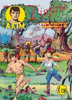 Copertina AKIM CRONOLOGICA seconda serie n.28 -  AKIM GIGANTE albi dal 109 al 112, MERCURY EDITORIALE