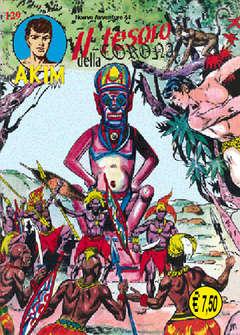 Copertina AKIM SECONDA SERIE CRONOLOGICA n.33 - 129/132, MERCURY EDITORIALE