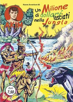 Copertina AKIM SECONDA SERIE CRONOLOGICA n.37 - 145/148, MERCURY EDITORIALE