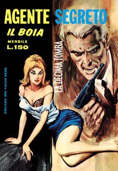 Copertina BOIA AGENTE SEGRETO n.4 - 13/17 (Fine Serie), MERCURY EDITORIALE