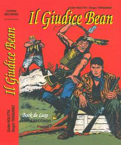 Copertina BOOK DE LUXE n.4 - IL GIUDICE BEAN 2 (m2), MERCURY EDITORIALE