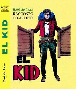 Copertina BOOK DE LUXE n.9 - RODEO - EL KID, MERCURY EDITORIALE