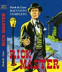 Copertina BOOK DE LUXE n.8 - RODEO - RICK MASTER, MERCURY EDITORIALE