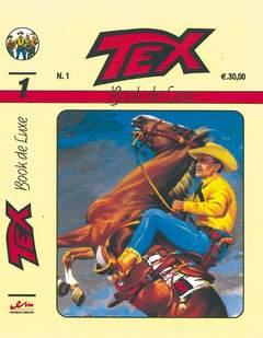 Copertina BOOK DE LUXE n.1 - TEX 1, MERCURY EDITORIALE