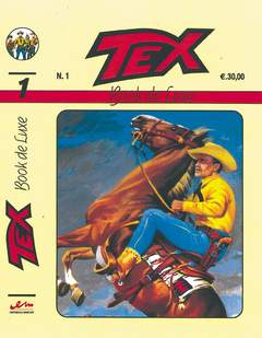 Copertina BOOK DE LUXE n.1 - TEX 1, MERCURY EDITORIALE