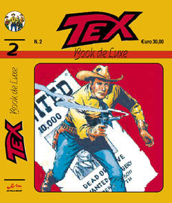 Copertina BOOK DE LUXE n.5 - TEX 2, MERCURY EDITORIALE