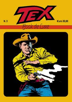 Copertina BOOK DE LUXE n.6 - TEX 3, MERCURY EDITORIALE