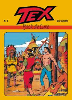Copertina BOOK DE LUXE n.7 - TEX 4, MERCURY EDITORIALE