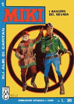 Copertina CAPITAN MIKI ALBI LIBRETTO COL n.1 - 1/10, MERCURY EDITORIALE
