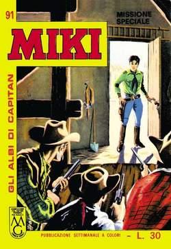 Copertina CAPITAN MIKI ALBI LIBRETTO COL n.10 - 91/100, MERCURY EDITORIALE