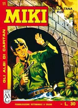 Copertina CAPITAN MIKI ALBI LIBRETTO COL n.2 - 11/20, MERCURY EDITORIALE