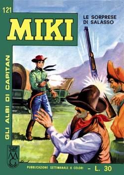 Copertina CAPITAN MIKI ALBI LIBRETTO COL n.13 - 121/130, MERCURY EDITORIALE