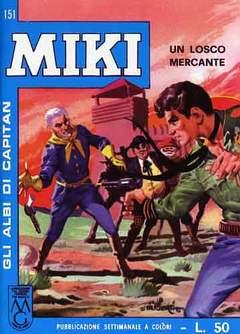 Copertina CAPITAN MIKI ALBI LIBRETTO COL n.16 - 151/160, MERCURY EDITORIALE