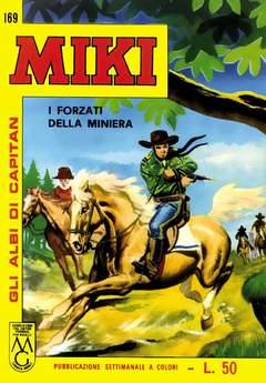 Copertina CAPITAN MIKI ALBI LIBRETTO COL n.18 - 169/176, MERCURY EDITORIALE